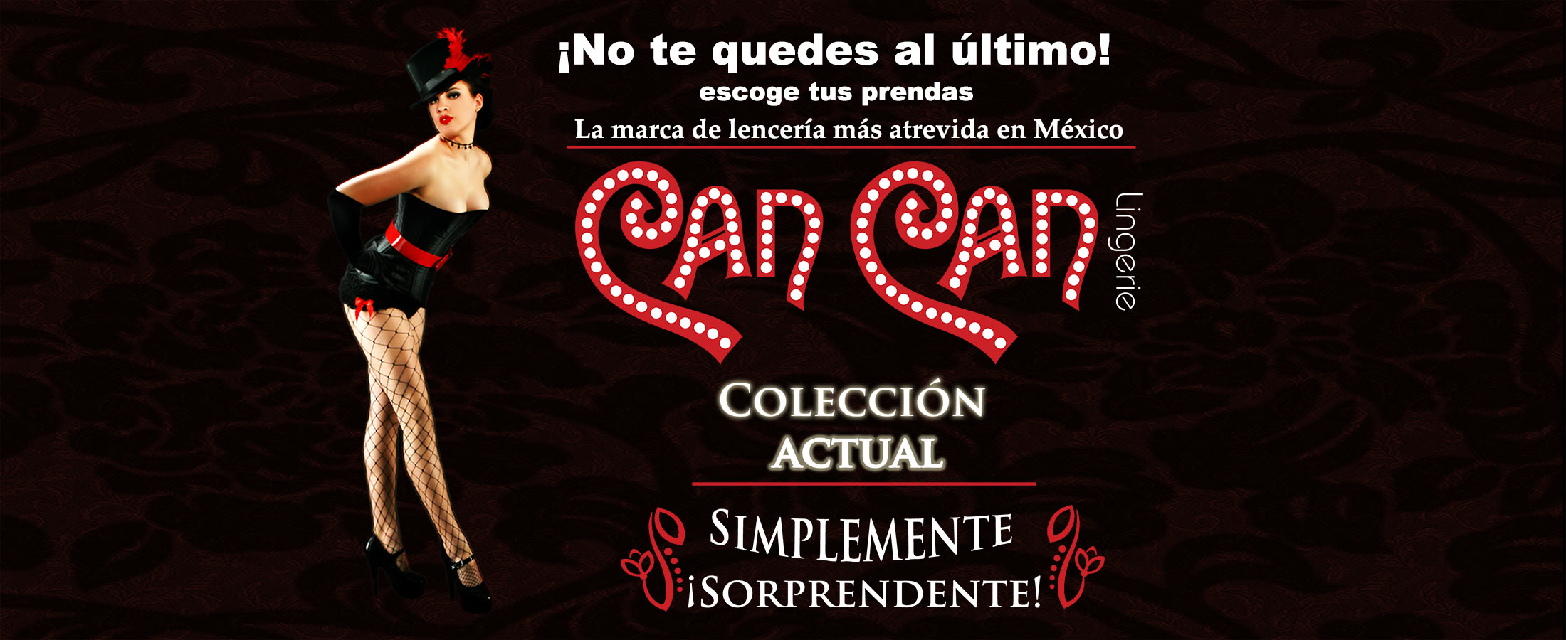 1429bb32fdb5 Can Can Lingerie – La marca de lencería más atrevida de México